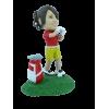 Figurine personnalisée golfeuse pro