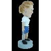 Figurine personnalisée golfeuse