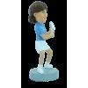 Custom bobblehead Woman tennis player