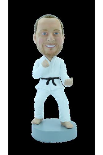 Figurine personnalisée de karaté