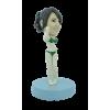 Figurine personnalisée de miss muscle