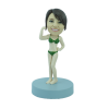 Figura personalizable Señorita muscula