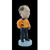 Figurine personnalisée en motard