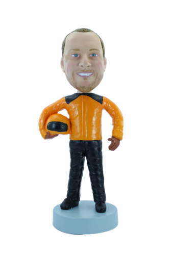 Figurine personnalisée de motard