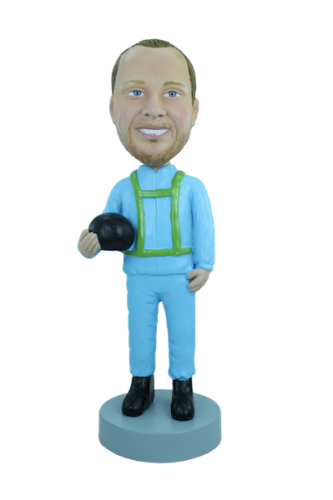 Custom bobblehead Parachutist