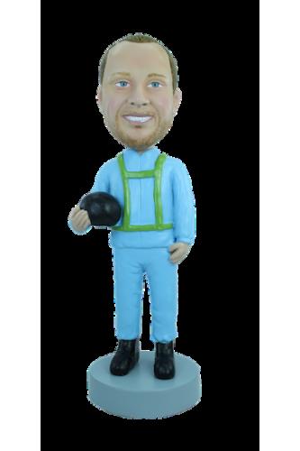 Personalizierte Figur Fallschirmspringer