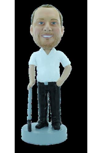 Custom bobblehead Golf break