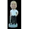 Figurine personnalisée golfeur