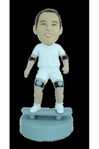 Figurine personnalisée en skateur