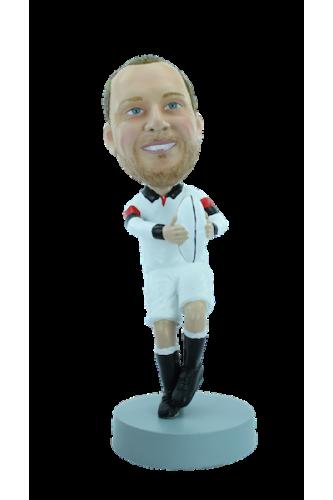 Personalizierte Figur Rugbyman