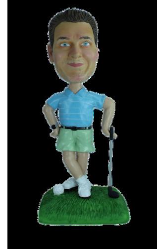 Figurine personnalisée super golfeur