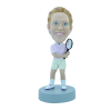 Custom bobblehead Tennis woman