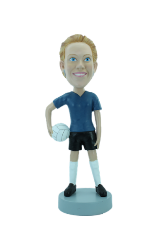Custom bobblehead Volleyball player