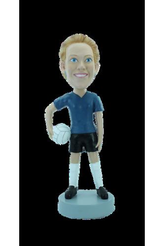 Figurine personnalisée en volleyeuse