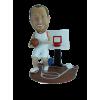 Figurine personnalisée avec terrain de basket