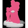 Figurine 100% personnalisée mariage avec 1 enfant