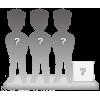 Figuras 3 personas 100% personalizable + accessorio M