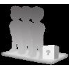 Figurine 3 personnes 100% personnalisable + accessoire taille M