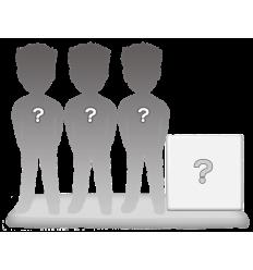 100% personalizierte 3 personen Figuren + Dekor Größ XL