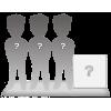 Figurines personnalisées de 3 personnes + décor XL