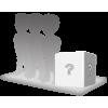 Figurine 3 personnes 100% personnalisable + décor XL