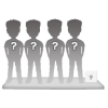 4 persons 100% customizable bobbleheads + accessory size S