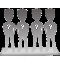 Figurine personnalisable de 4 personnes