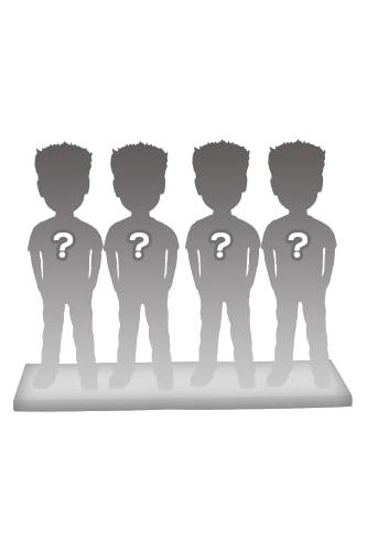 100% personalizierte 4 personen Figuren