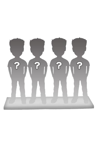 4 persons 100% customizable bobbleheads