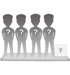 4 persons 100% customizable bobbleheads + accessory size M