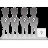 Figuras 4 personas 100% personalizable + accessorio M