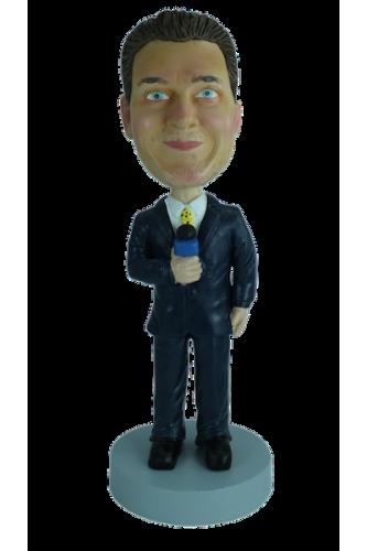 Figurine personnalisée d'animateur