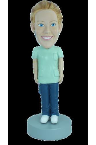 Figurine personnalisée d'Assistante en chirurgie