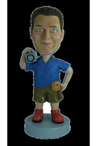 Figurine personnalisée de caméraman