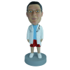Figurine personnalisée d'étudiant en médecine