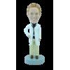 Figurine personnalisée de femme médecin