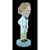 Figurine personnalisée femme médecin