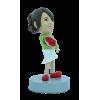 Figurine personnalisée fleuriste