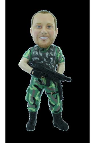 Figurine personnalisée de G.I