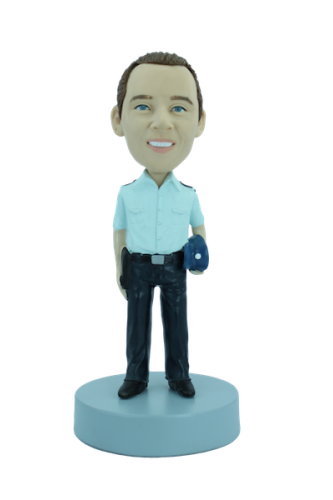 Figurine personnalisée de gendarme