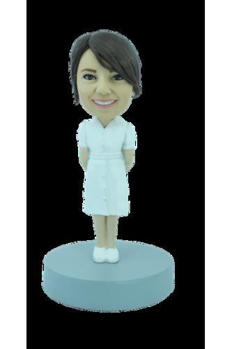 Figurine personnalisée d'infirmière