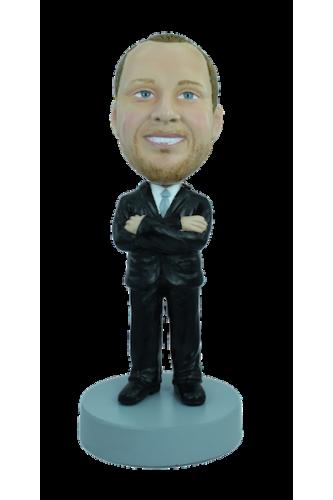 Figurine personnalisée en homme d'affaire