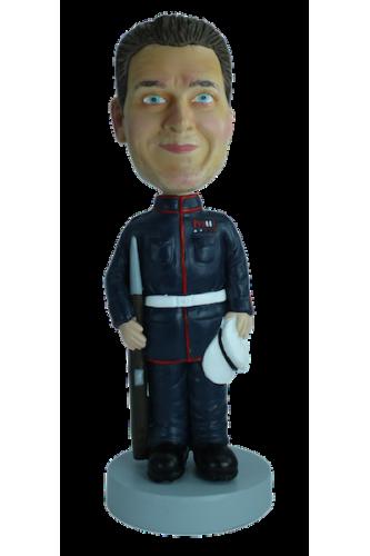 Figurine personnalisée d'officier de marine
