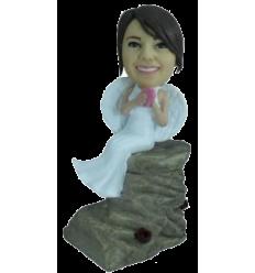 Figurine personnalisée amoureuse