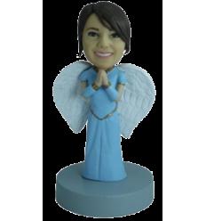 Custom bobblehead angel