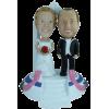 Custom wedding bobblehead