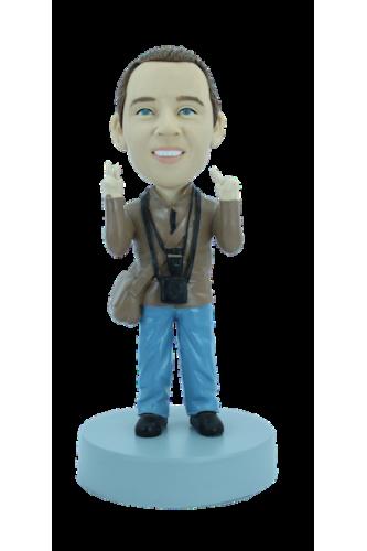 Figurine personnalisée de photographe