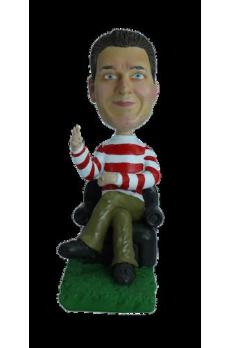 Figurine personnalisée de prof de philo