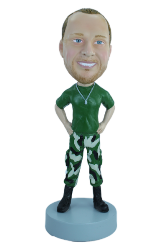 Figurine personnalisée de marine's