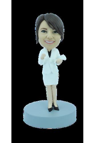 Figurine personnalisée de professeur